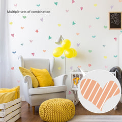 """Hearts Confetti"" Wall Decals"