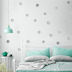 """PolkaDots"" Watercolor Decal"