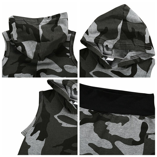 """Camo Boy"" Sleeveless Set"