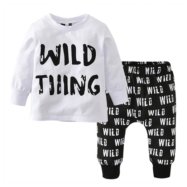 """Wild Thing"" T-Shirt Set"