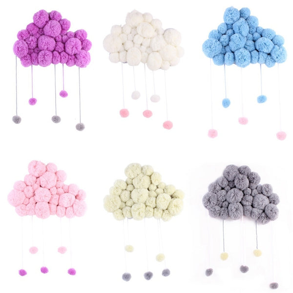 """Raindrop Clouds"" Nordic Wall Decor"