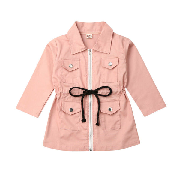 """Pastel"" Girls Trenchcoat"