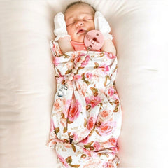 """Pinkish"" Newborn Receiving Blanket Set"