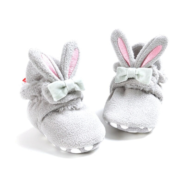 """Le Rabbit"" Wrap Slipper Booties"