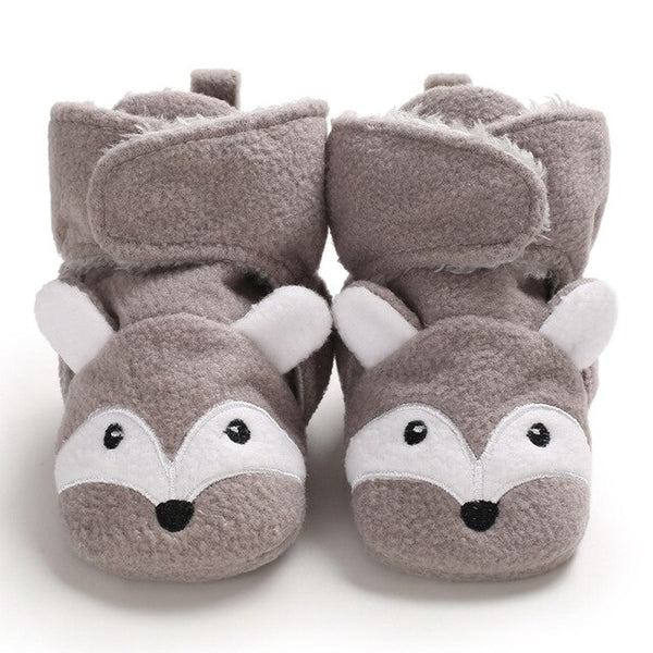 """Animalz"" Assorted Wrap Slipper Bootie"