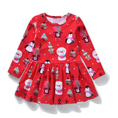 """Feels Like Christmas"" Toddler Dress"