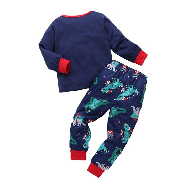 """Rex Yourself"" Christmas Toddler Pajamas"