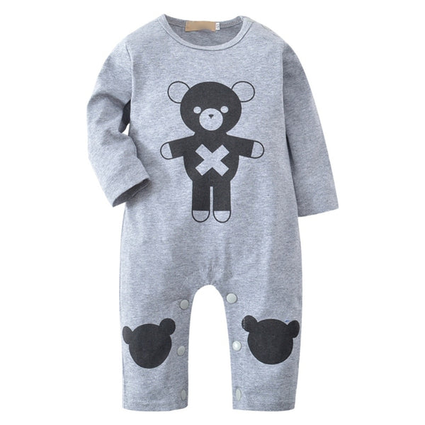 """Bear Hugs"" Playsuit"
