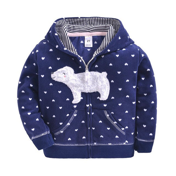 """Little Lamb"" Polar Fleece Winter Hoodie"