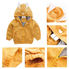"""Johnny Rabbit"" Yellow Windbreaker"