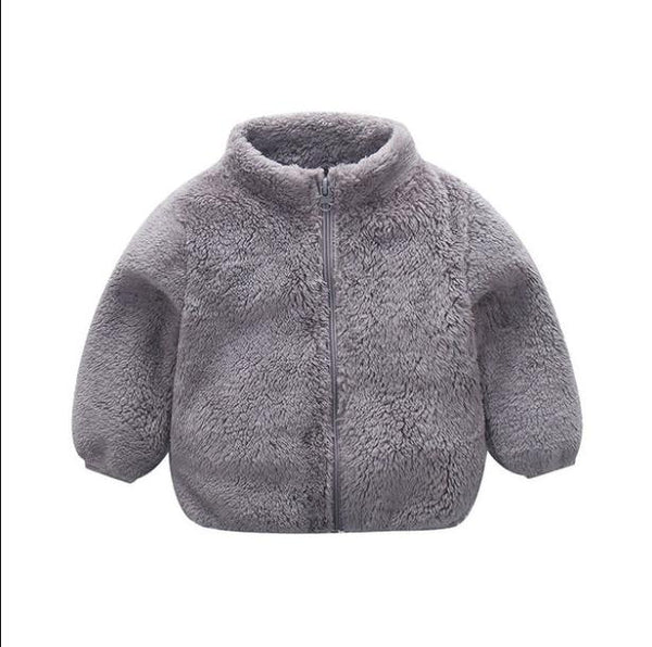 """Solids"" Fleece Zip-Up"