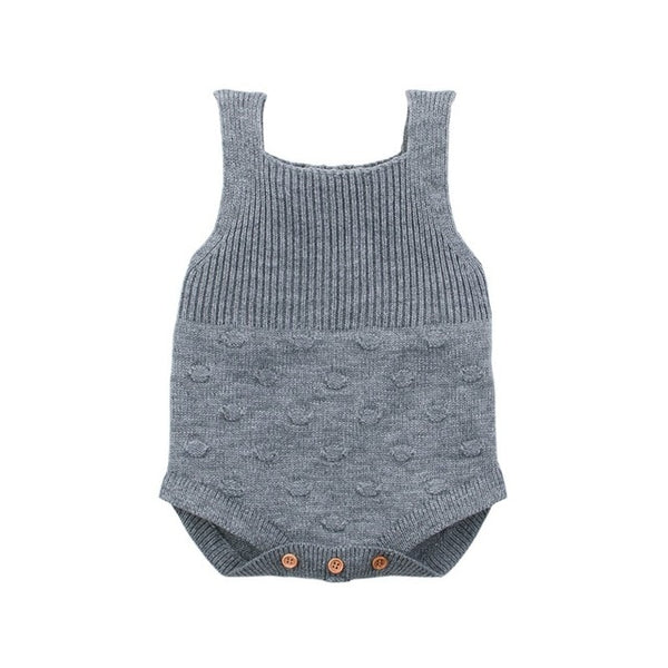 """Charlie"" Knitted Bodysuit Overalls"