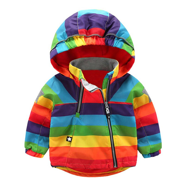 """The Rainbow"" Windbreaker"