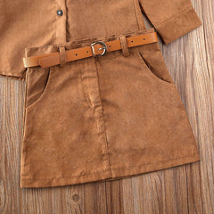Cowgirl Skirt Set