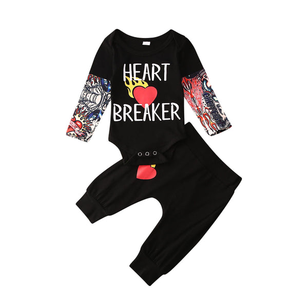 """Heart Breaker"" Tattoo Set"