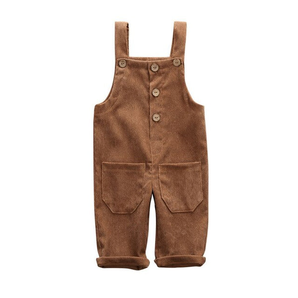 """Buttons"" Cord Overalls"