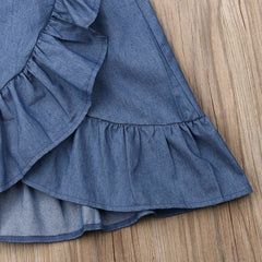 """Boho Denim"" Skirt Set"