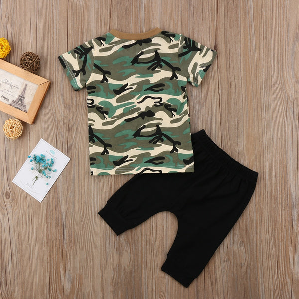 "'Notorius"" Boys Camo Set"