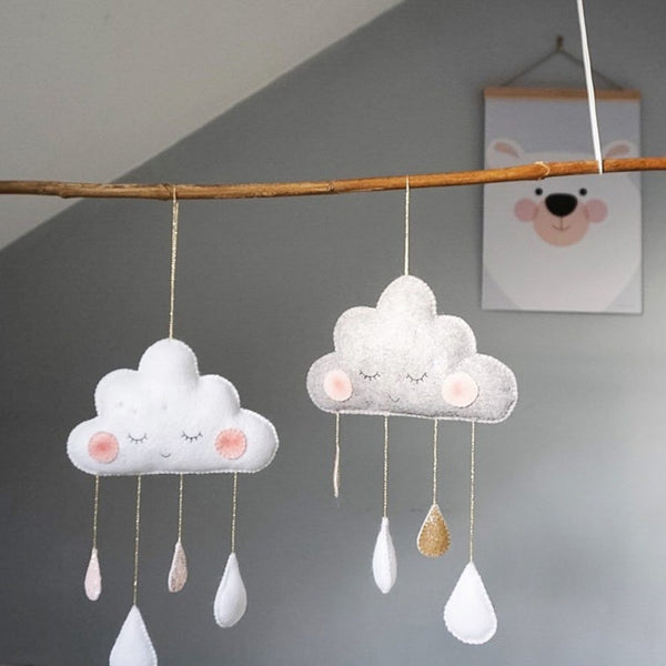 """Sleepy Cloud"" Ornament"