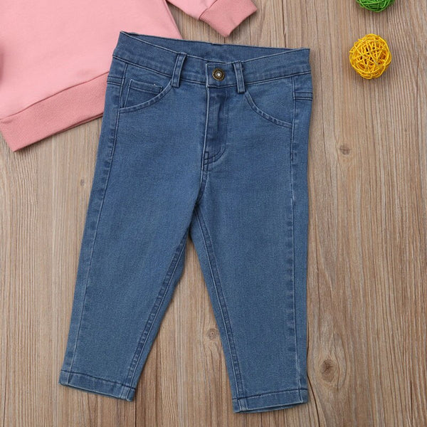 """Ruffle Me Pretty"" Denim Set"