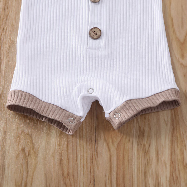 """Solids"" Ribbed Shortsuit"