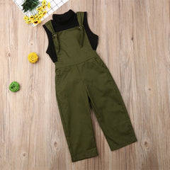 """Army Girl"" Turtleneck Jumpsuit"
