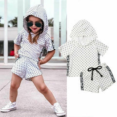 """Love Dots"" Toddler Girls Set"