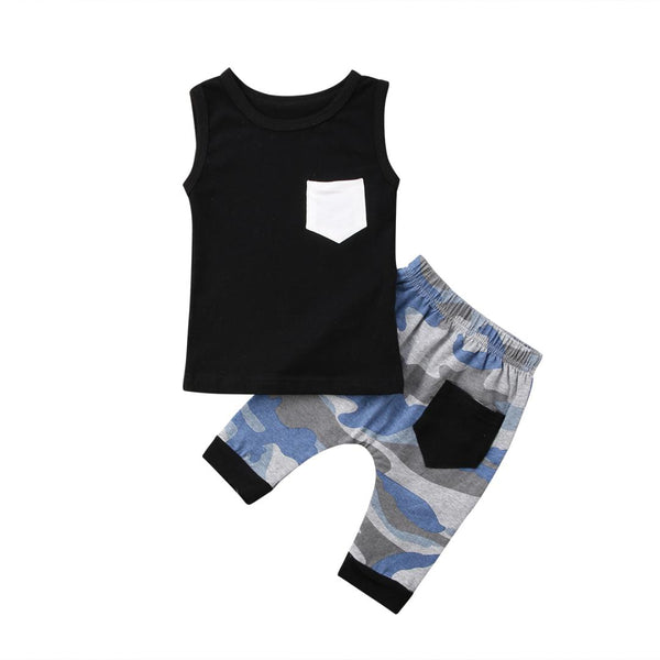 """Pocket Camo"" Boys Set"