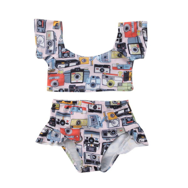 """Polaroid"" Bikini Bathing Suit"