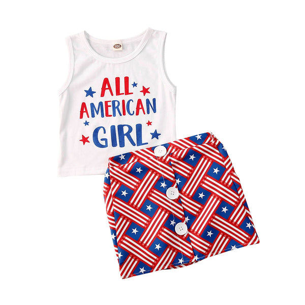 """All American Girl"" Skirt Set"
