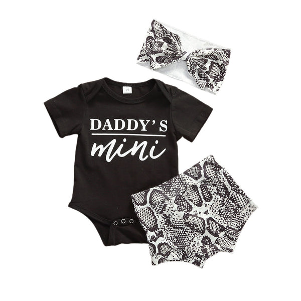 """Daddy's Mini"" 3 Piece Set"
