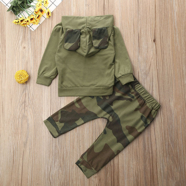 """Camo Bear"" Leisure Set"