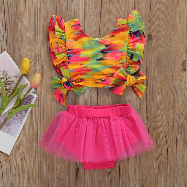 """Zalia"" Tutu Bloomer Set"