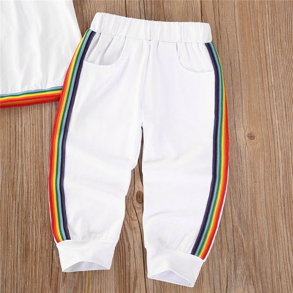 Rainbow Stripe Summer Track Set