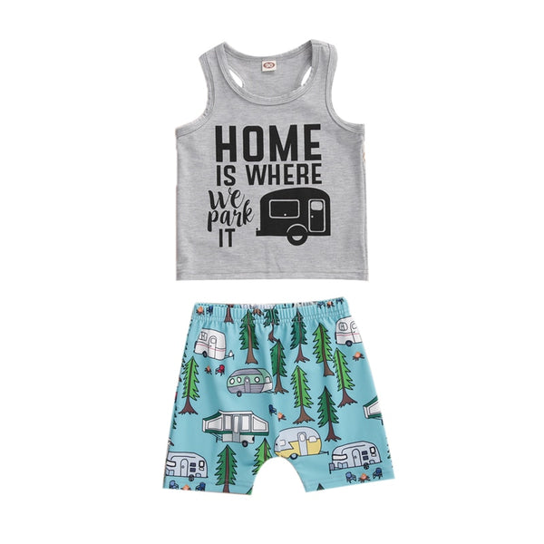 """Home"" Camper Set"