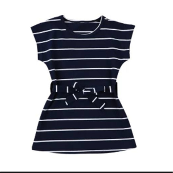 """Stripes and Ties"" Comfy Dress"