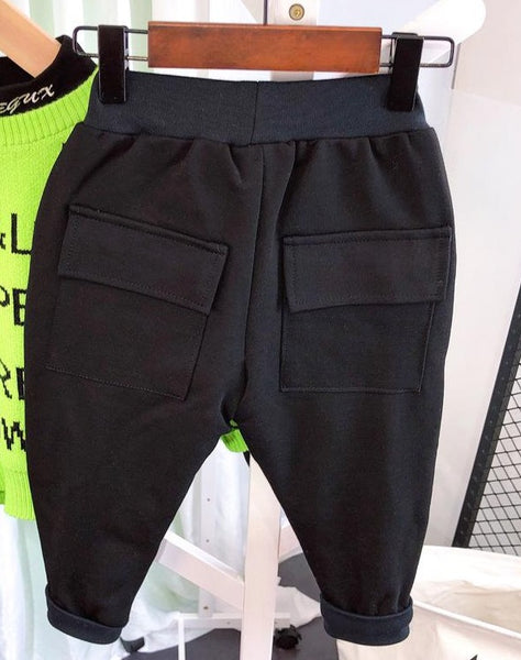 """Handsome"" KIDS Sweat Pants/Shorts"