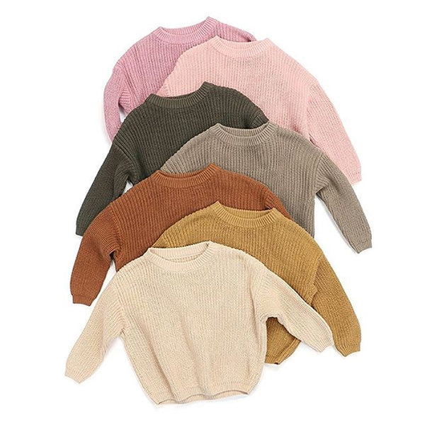 """Neutrals"" Knitted Cozy Sweaters"