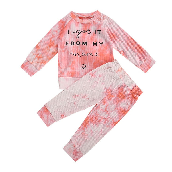 MAMA Tie Dye Ribbed Collection