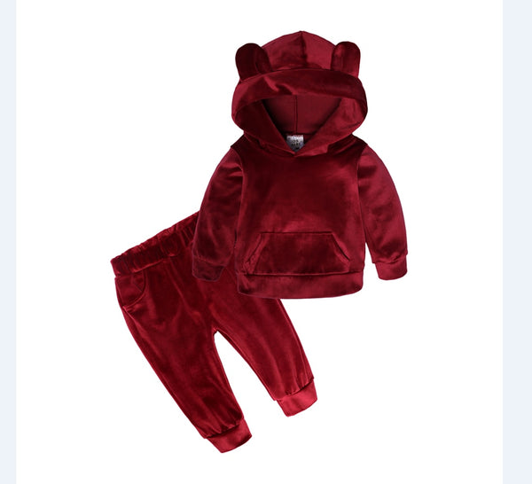 RED VELVET Baby Bear Set