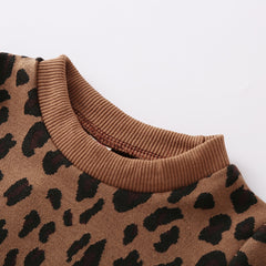 Cheetah and Pleather Set