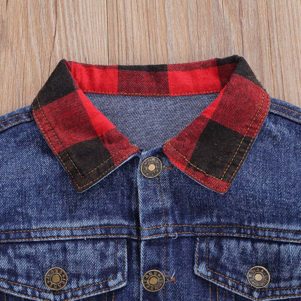 LUMBERGIRL Patch Denim Jacket