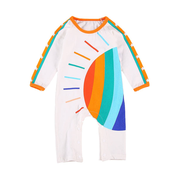 Rainbows Everywhere Romper