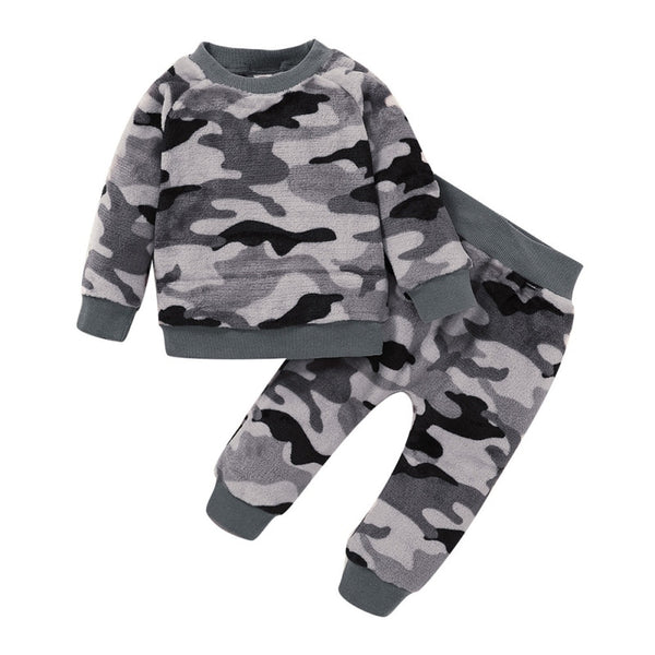 Camo Fleece Collection Sets