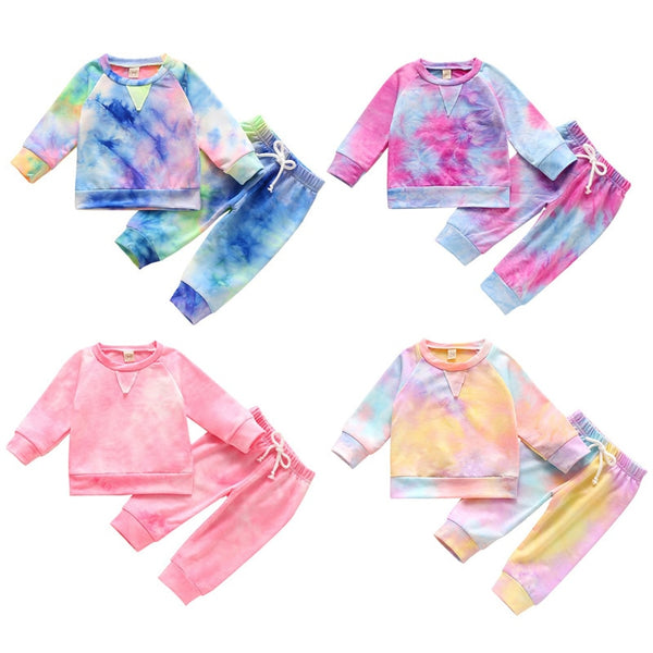 Tie-Dye Autumn Set