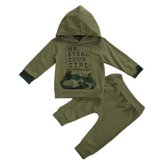 Army Boy Hoodie Set Collection