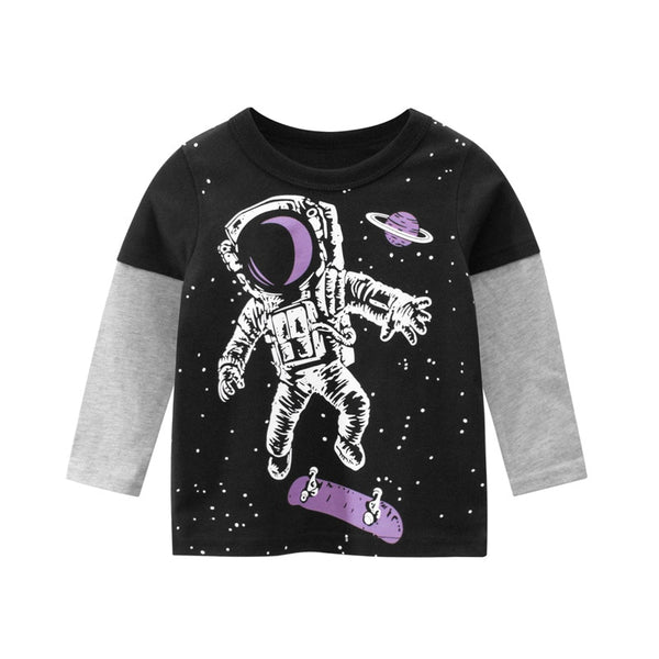 SPACEMAN Toddler Baseball Tee
