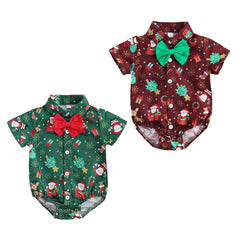 Santa's Little Helper Gentleman Bodysuit
