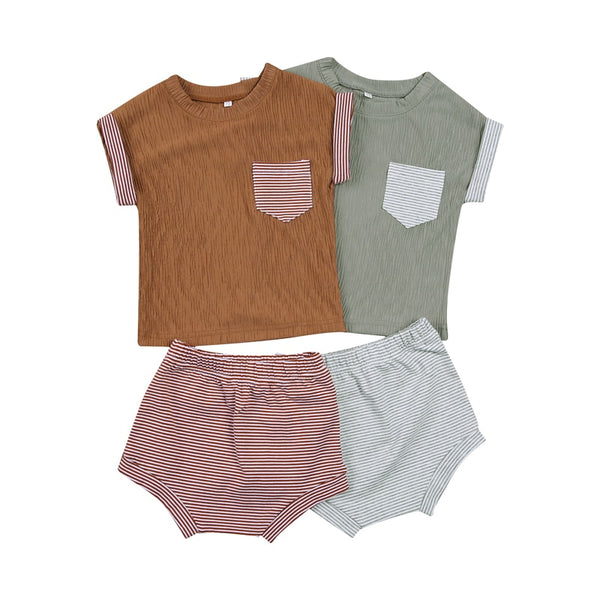AXLE Summer Stripe Pocket Set