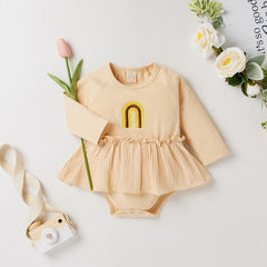 BELLA Rainbow Dress Bodysuit